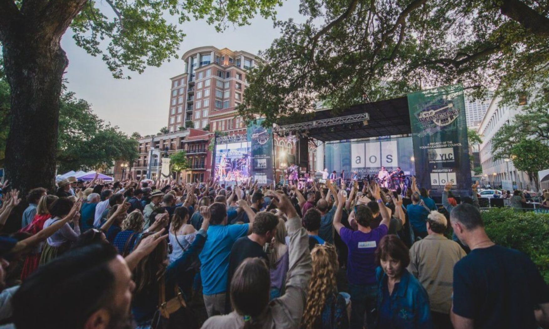 YLC's Wednesdays at the Square Concert Series
