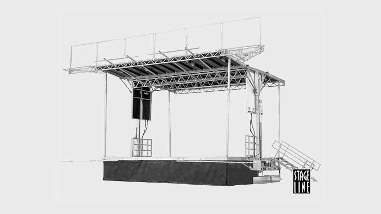 SL-100 Mobile Stage